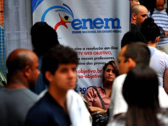 O Enem 2013 será aplicado no mês de outubro em todo o Brasil
