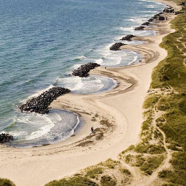 <p>ADinamarca possui praias secretas para curtir o verão com tranquilidade</p>