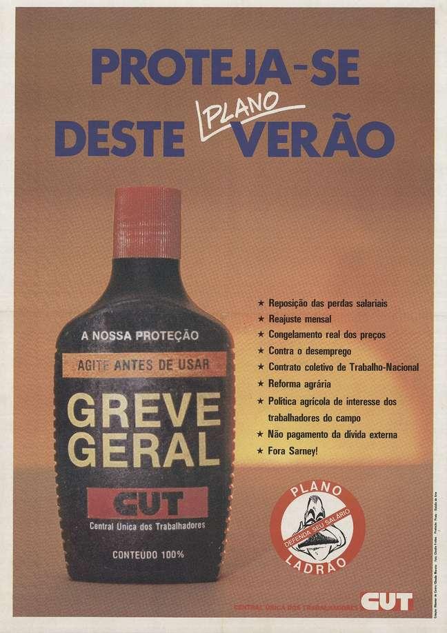 O Plano Verão, lançado em janeiro de 1989, revoltou a população brasileira e impulsionou a segunda greve geral da história do País