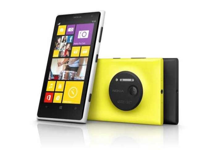 Lumia 1020 tem tela de 4,5 polegadas é chega ao mercado nas cores amarelo, preto e branco