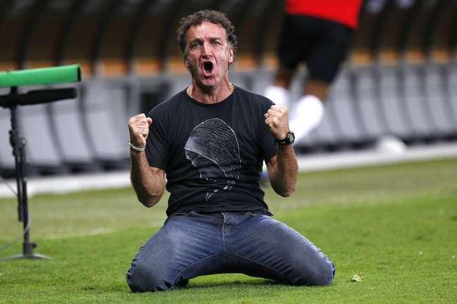 <p>Cuca quebrou a pecha de vice ao dar ao Atlético-MG sua primeira Libertadores</p>
