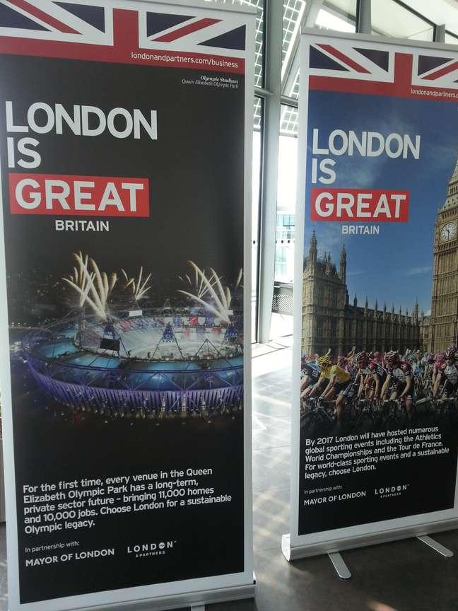 Londres tenta se esforçar para aproveitar obras da Olimpíada