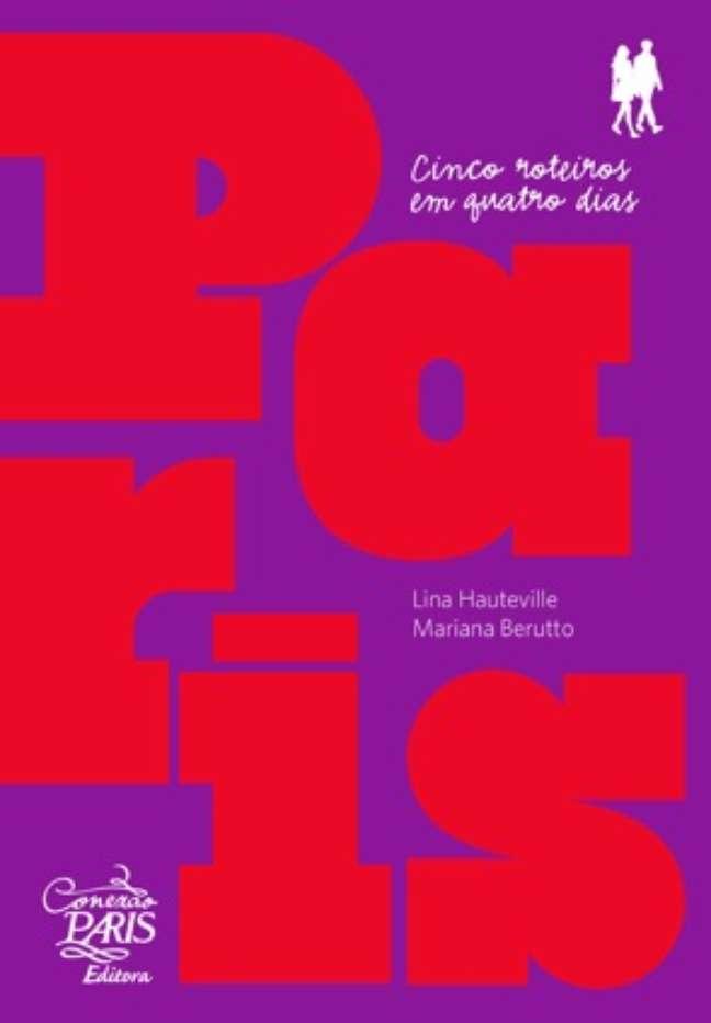 <p>Livro traz mapas para conhecer Paris caminhando</p>