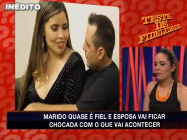 <p>Priscila Vilela (&agrave; esquerda) em cena no Teste de Fidelidade exibido no &uacute;ltimo dia 14 de julho, na RedeTV!</p>