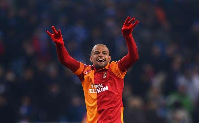 Felipe Melo atualmente defende o Galatasaray, da Turquia