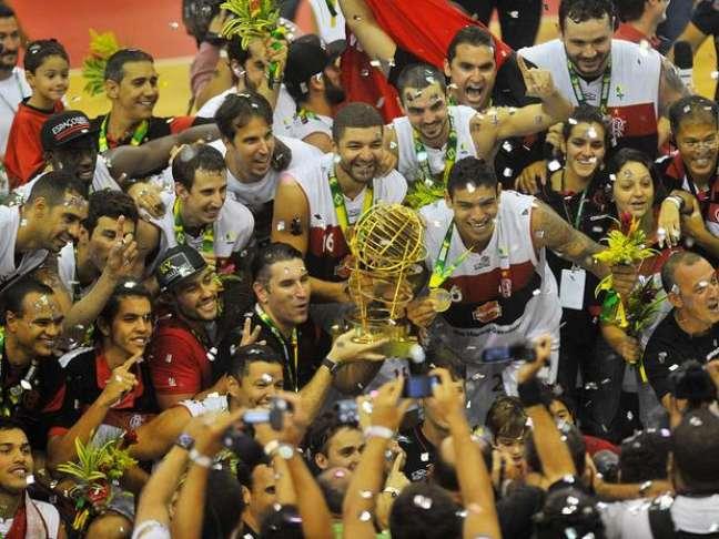 <p>Flamengo venceu a última edição do NBB, em final única</p>