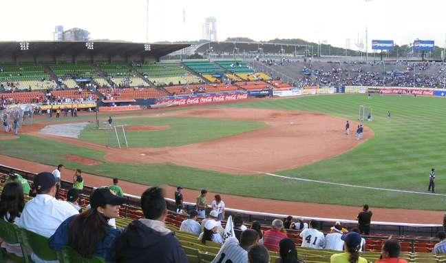 Estádio Universitário é a casa dos Leones del Caracas, equipe mais popular e vitoriosa da Venezuela