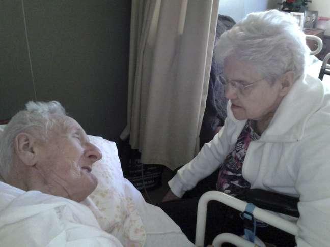 Harold e Ruth se conheceram na infância, segundo relato da família