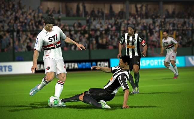 Tela de 'Fifa World'