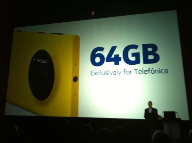 <p>Aparelho com 64 GB será vendido com excluisividade pela Vivo no Brasil</p>
