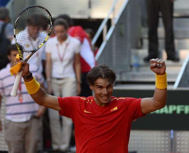 <p>Rafael Nadal jogou quatro dias depois de vencer o US Open</p>