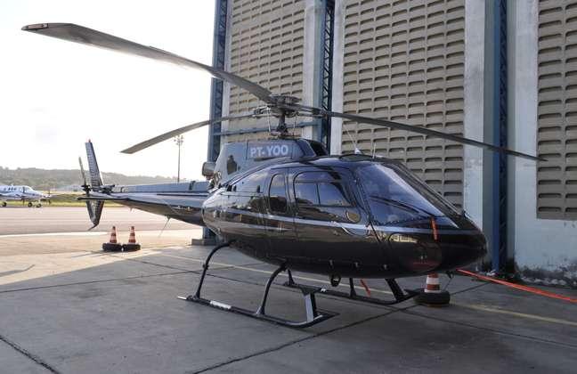 Helicóptero em valor estimado de R$ 2 milhões foi apreendido no aeroporto do Recife na tarde de domingo