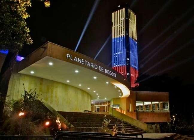 O novo Planetário de Bogotá foi inaugurado em março de 2013, e conta com tecnologia para exibição de filmes em grande formato