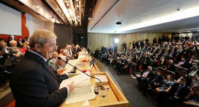 O ex-presidente relembrou o processo de criação da Constituição de 1988