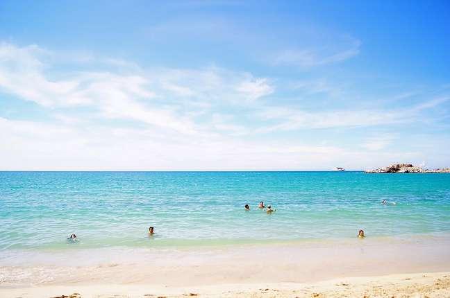 Belas praias, como El Yaque, fazem da Isla Margarita um dos destinos turísticos mais concorridos da Venezuela