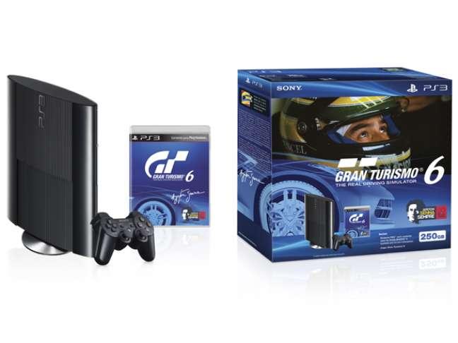 Parte da venda do pacote especial do PS3 e do jogo 'Gran Turismo 6' especial Ayrton Senna será revertida para o Instituto Ayrton Senna
