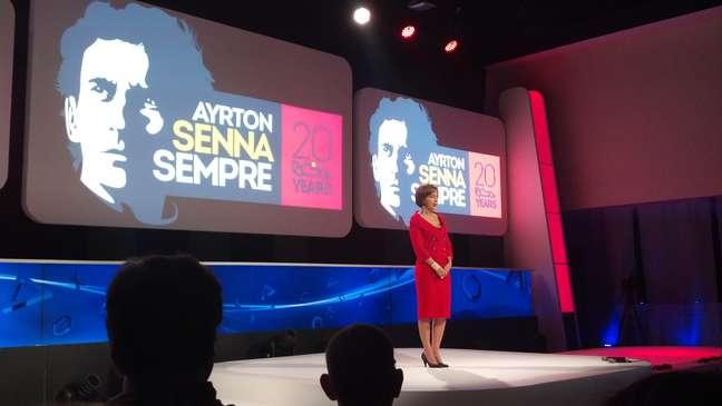 Viviane Senna anunciou a parceria entre o Instituto Ayrton Senna e PlayStation