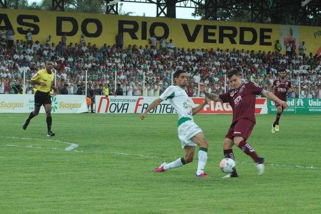 Luverdense derrotou o Caxias em Lucas do Rio Verde
