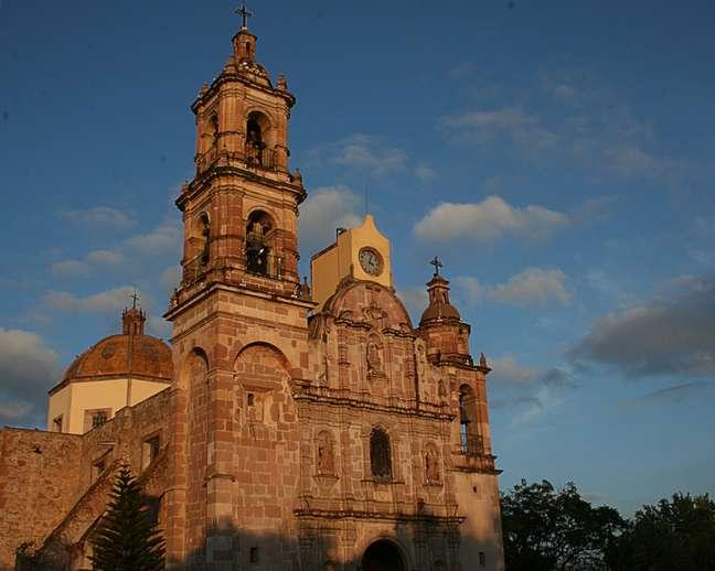 Com uma história de quase 350 anos, o Templo de San Marcos é uma das principais construções de Aguascalientes