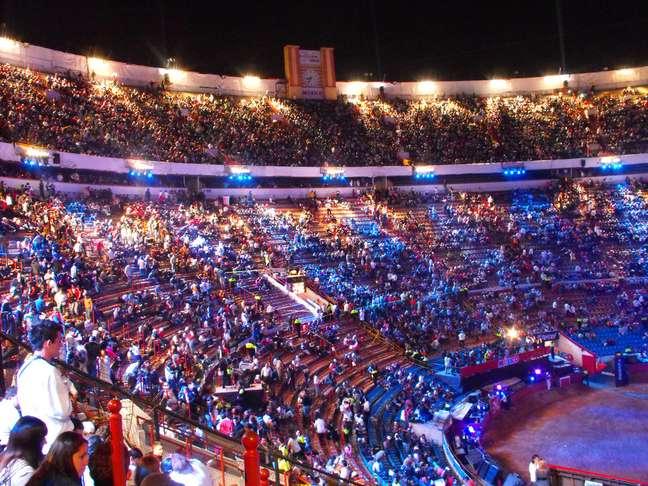 Inaugurada em 1946, a Monumental Plaza de Toros da Cidade do México é a maior arena de touradas do mundo
