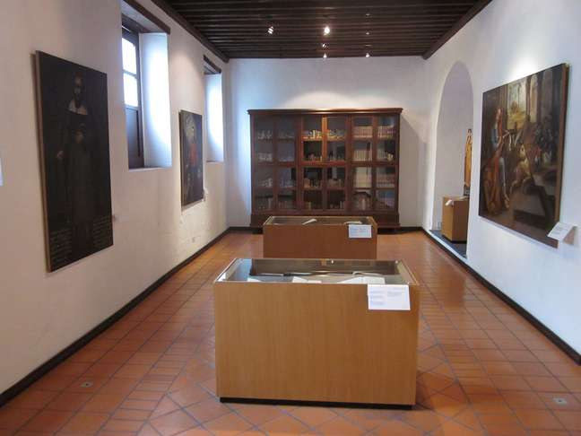 Convento iniciou suas atividades em 1688, e hoje abriga o Museu de Arte Religiosa de Santa Mônica, em Puebla