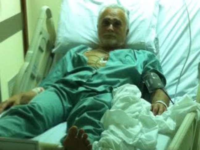 <p>Genoino foi internado após ter um pico de pressão alta na prisão</p>