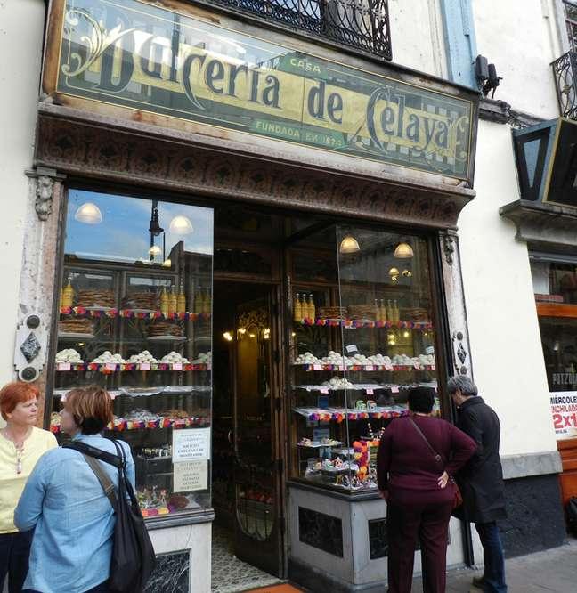Fundada em 1874, a Dulcería de Celaya é um patrimônio arquitetônico e gastronômico da Cidade do México