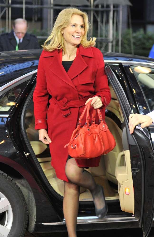 Helle Thorning-Schmidt é conhecida por seu apreço a roupas de drige