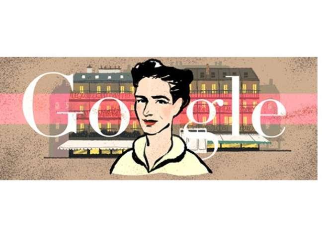 <p>Doodle do Google celebra os 106 anos do nascimento da escritora</p>