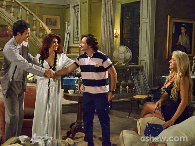 Murilo aprova a união de Gigi e Ignácio
