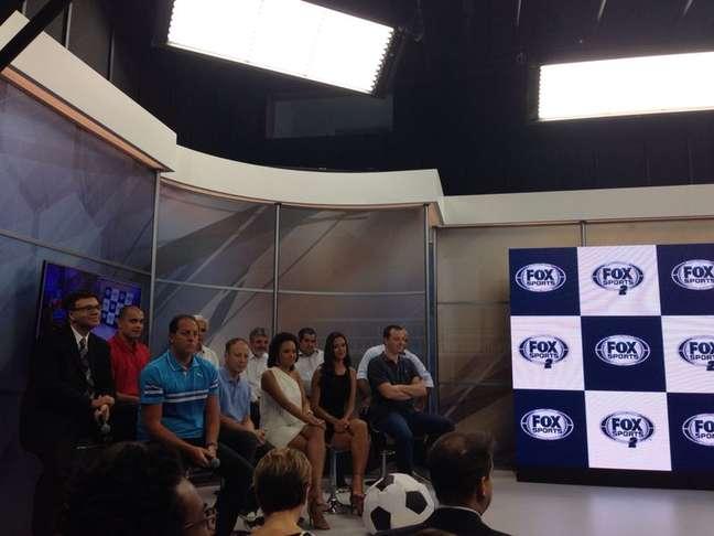 Fox Sports apresenta equipe para seus dois canais