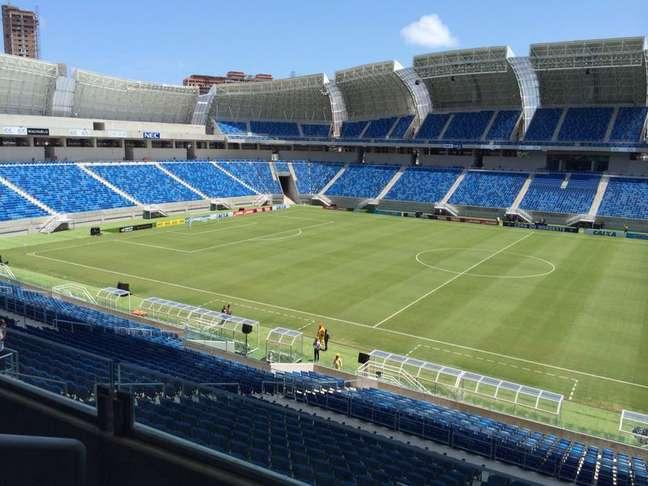 <p>Arena das Dunas foi inaugurado no &uacute;ltimo domingo: custo total para deixar 12 est&aacute;dios da Copa pronto mais do que triplicou em seis anos</p>