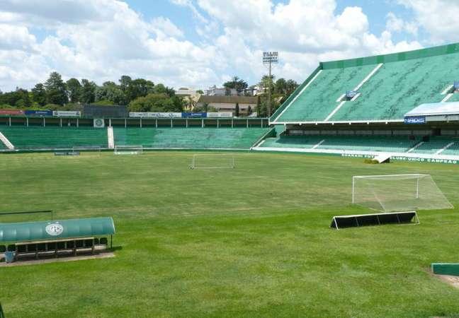 Estádio do Guarani foi leiloado