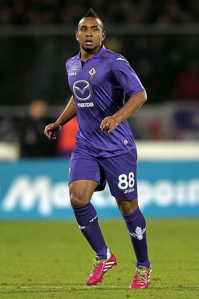 <p>Anderson foi emprestado a Fiorentina, mas não ficará na Itália</p>