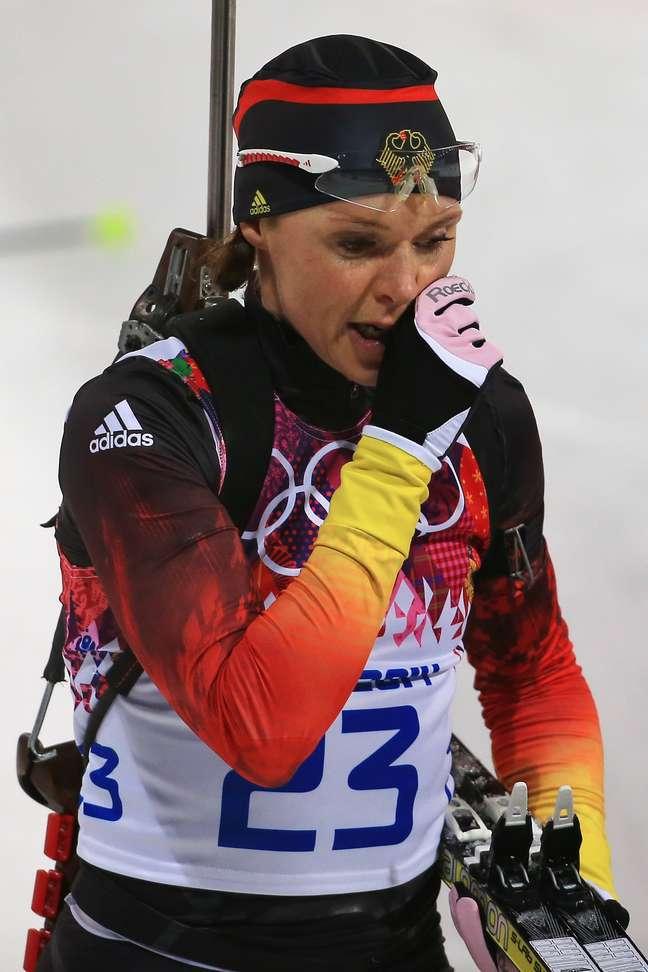 Evi Sachenbacher-Stehle não conquistou medalhas em Sochi