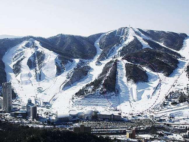 Bokwang recebe as provas do esqui estilo livre e do snowboarding
