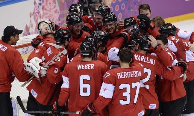 Canadá levou medalha de ouro no hóquei sobre o gelo