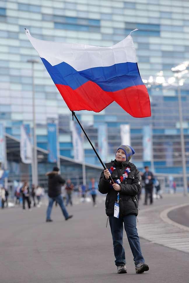 Bandeira russa foi a mais vista nos pódios em Sochi 2014