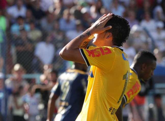 Luciano não conseguiu evitar a eliminação do Corinthians