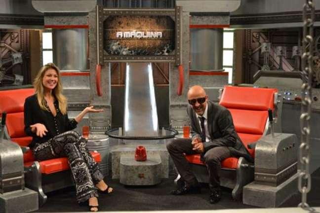 <p>A modelo e apresentadora participou do programa 'A Máquina', da TV Gazeta</p>