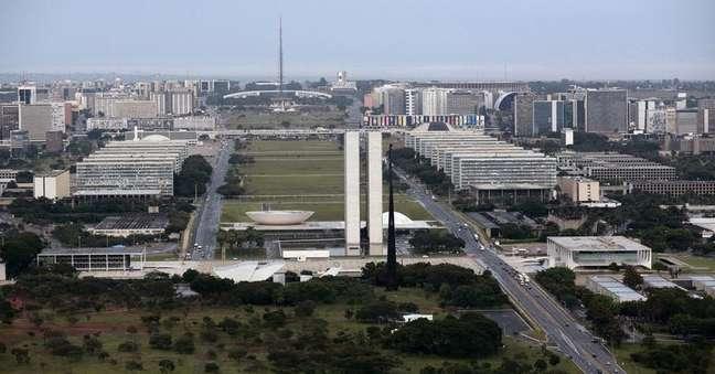 <p>Vista geral do Congresso Nacional, em Brasília.</p>