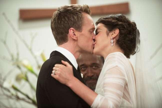 <p>Ap&oacute;s tr&ecirc;s anos de casamento, Barney (Neil Patrick Harris) e Robin (Cobie Smulders) se separam</p>