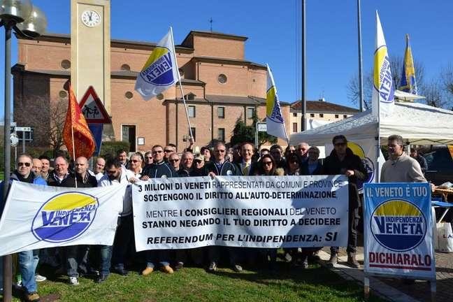 Ativistas pró-independência de Veneza