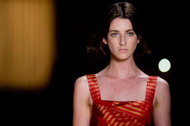 <p>Maria Filó apresenta coleção de verão na passarela do Fashion Rio</p>