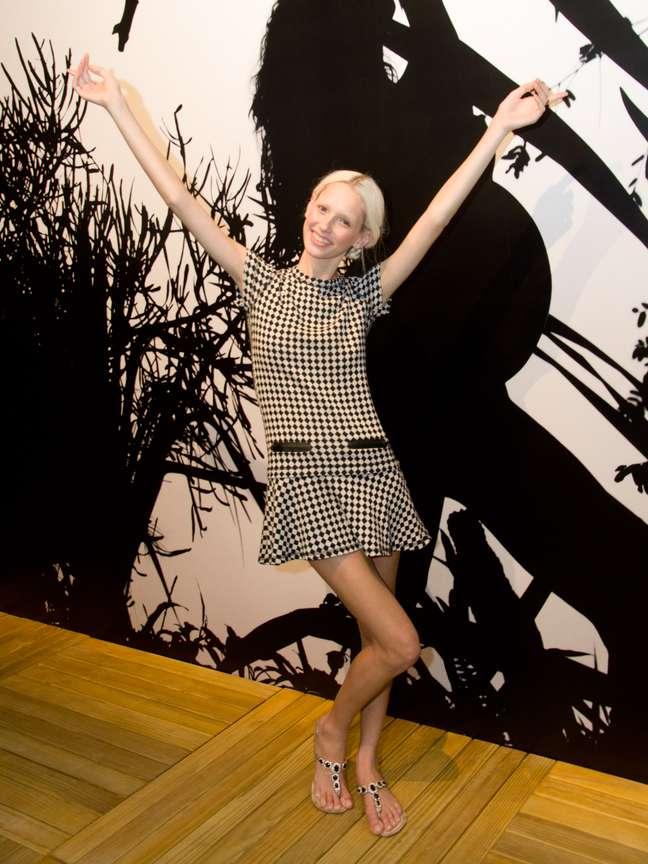 """<p>Giovanna Bichelscompletou a idade mínima para participar das semanas de<a href=""""http://moda.terra.com.br"""">moda</a> em março</p>"""