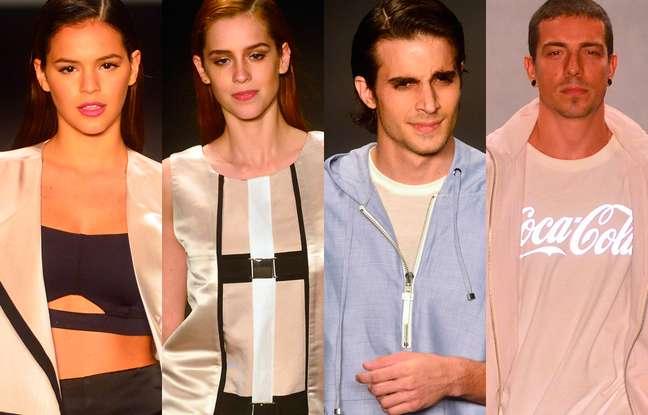 <p>Marquezine, Sophia, Fiuk e Di Ferrero desfilaram pela Coca-Cola Jeans</p>