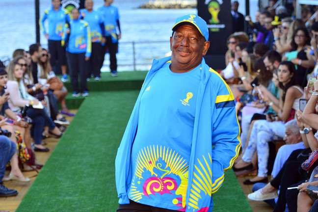 <p>José Antônio é voluntário veterano de outros eventos no Brasil</p>