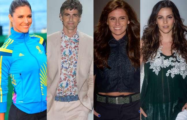 <p>(Esq. para dir.) Fernanda Lima, Reynaldo Gianecchini, Giovanna Antonelli e Tainá Müller foram destaques do penúltimo dia de Fashion Rio</p>