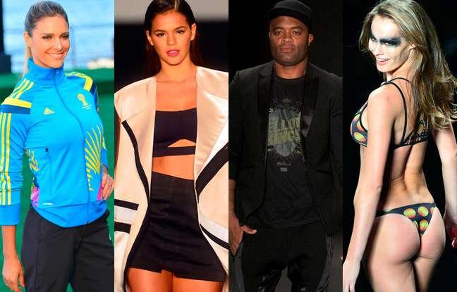 <p>Famosos e moda praia marcam o Fashion Rio Verão 2015</p>