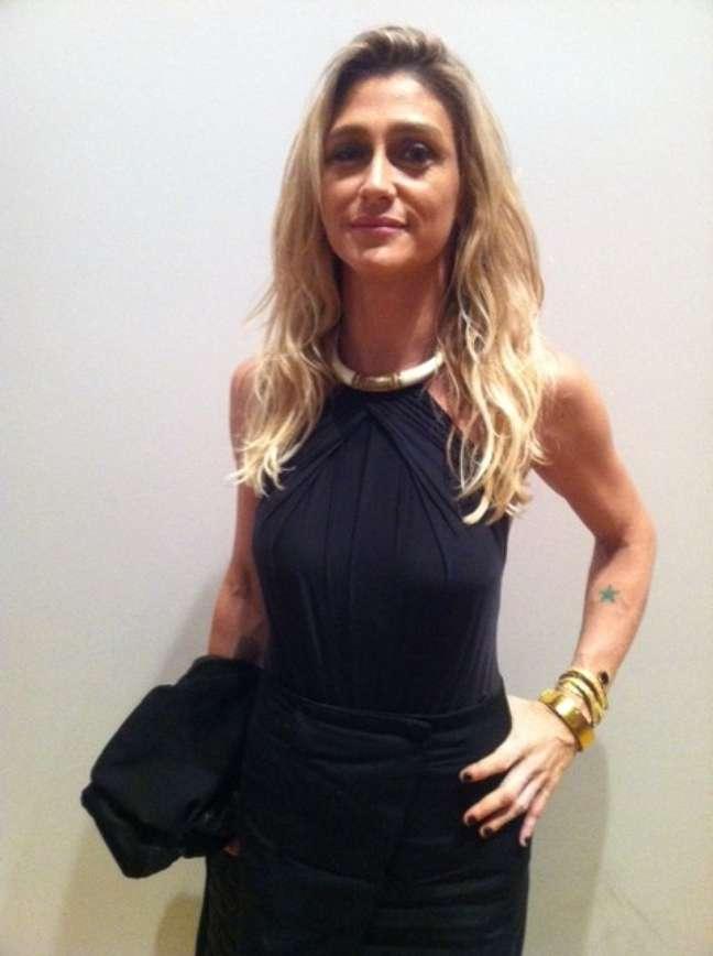 Amora Mautner esteve no Fashion Rio